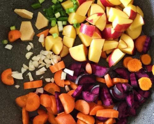 Rauchiges Kartoffel Curry